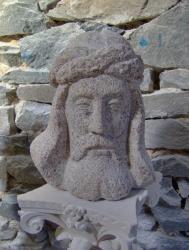 La Passion sculpture granit de correze 350€